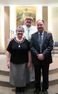 Sr. Darleane Pelechaty, Rt. Rev. Mitrat Msgr. Michael Buyachok, Mr. Jean Piche